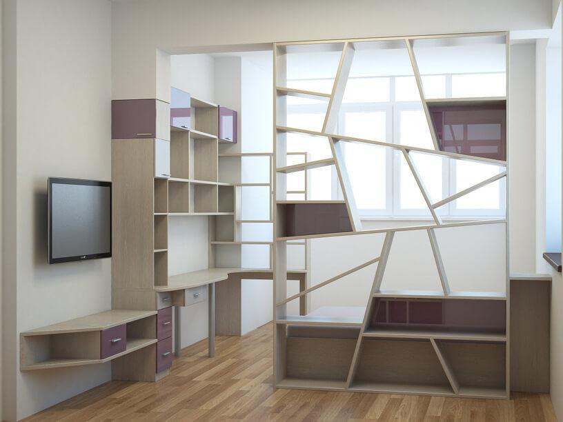Шкафы и полки на заказ в геленджике - производство мк-стиль.